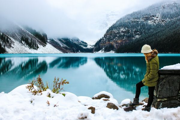 Lake Louise Winter