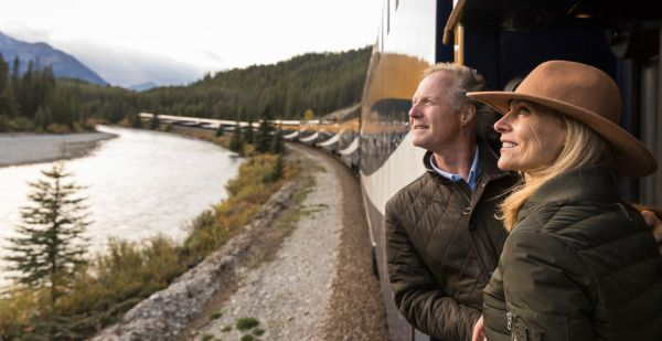 Rocky Mountaineer Couple