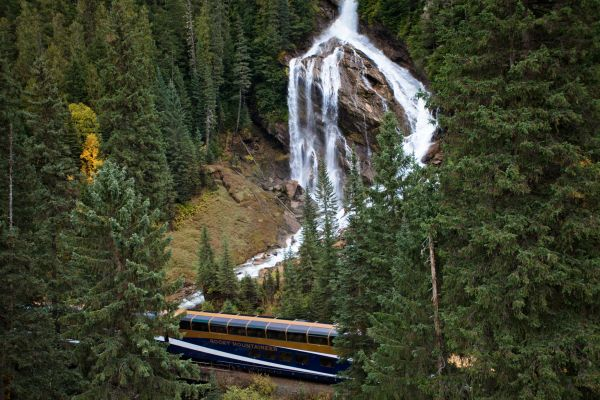 Pyramid Falls - Rocky Mountaineer