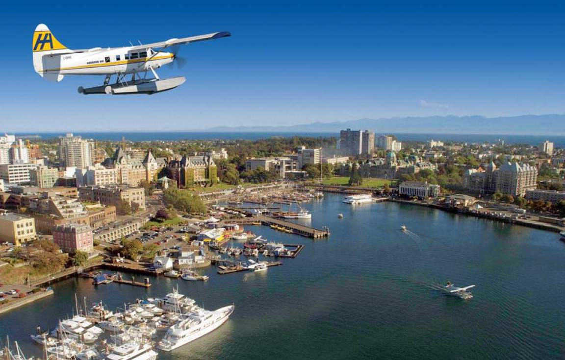 Travel to Victoria via floatplane