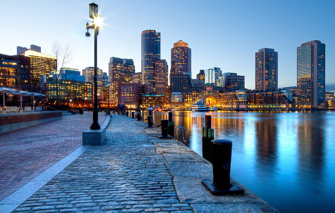 Start and end your tour in Boston