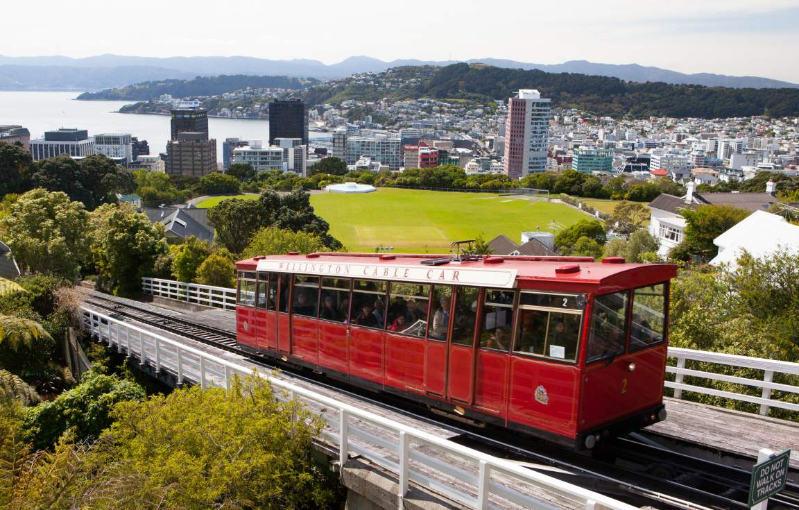 Why not take a ride on a cable car during your free time in Wellington