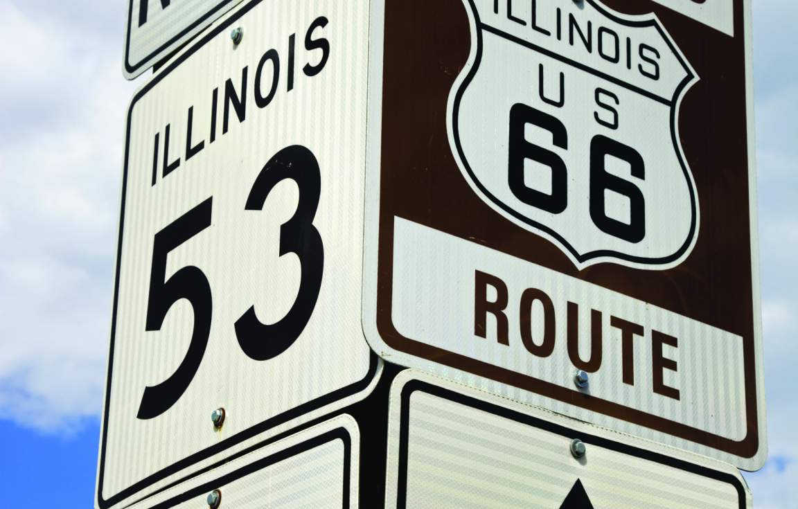 Route 66 Beginning in Chicago