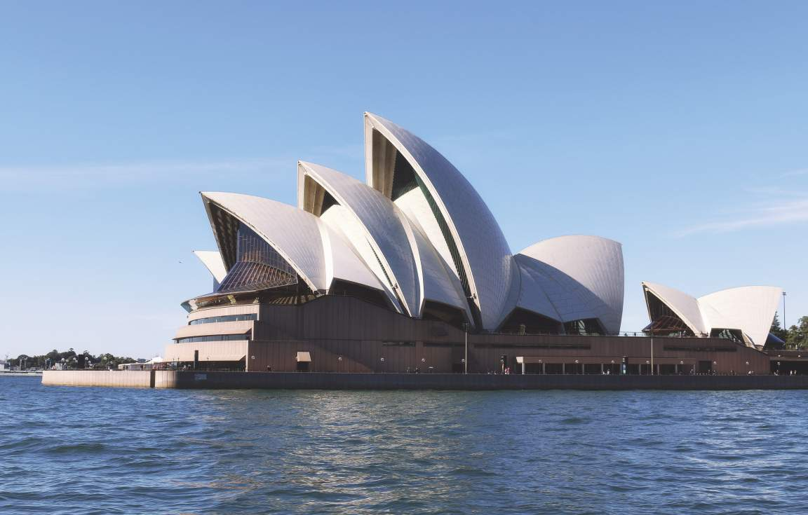 Sydney - View of Opera House