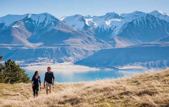 Couple at Mount Cook