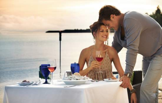 Couple at Hayman Island