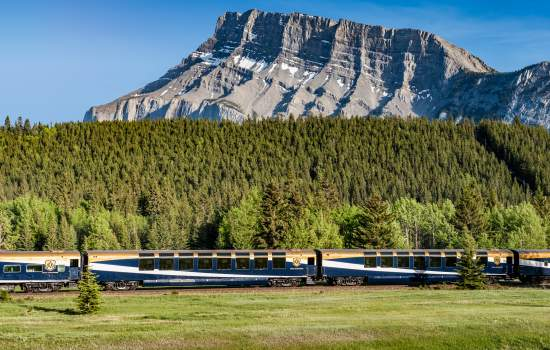 Stunning views from the Rocky Mountaineer