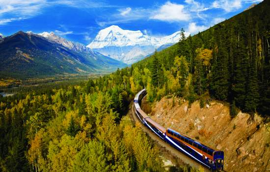 Travel on the iconic Rocky Mountaineer