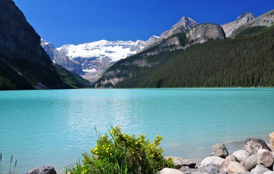 Take a stroll round Lake Louise