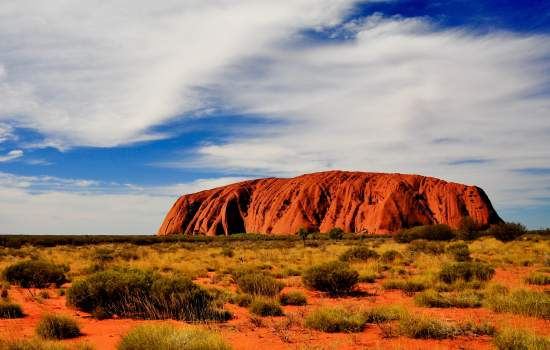 Travel through the Red Centre