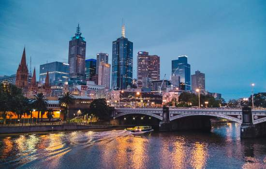 The vibrant city of Melbourne