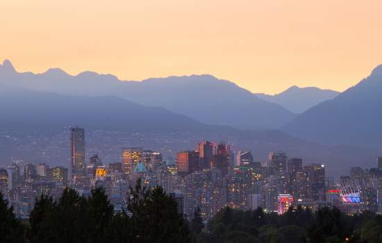 Vancouver's beautiful skyline