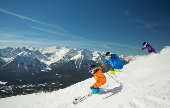 Lake Louise Skiing